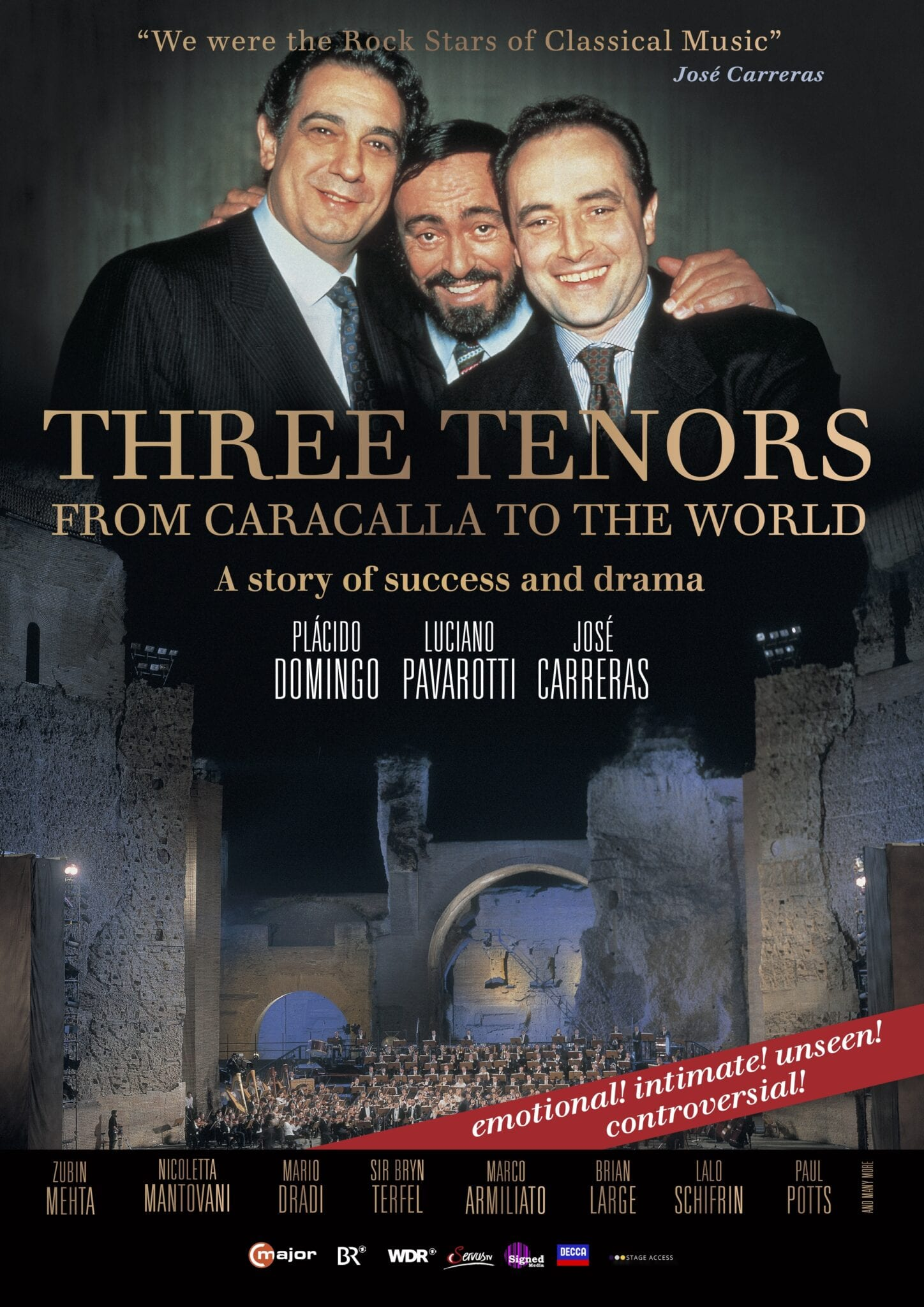 3 Tenors: form Caracalla to the World - 30 Years of Magic